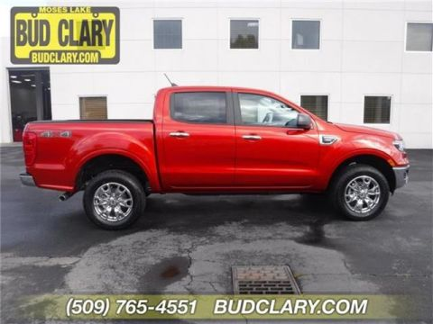 New 2019 Ford Ranger Lariat 4x4 SuperCrew 5 ft. box Four Wheel Drive Short Bed