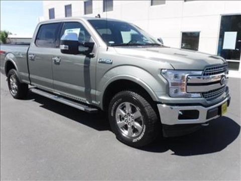 2020 Ford F-150 Lariat 4x4 SuperCrew Cab Styleside 6.5 ft. box 157 in. WB