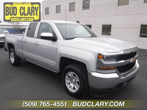 Pre-Owned 2018 Chevrolet Silverado 1500 LT 4WD Extended Cab Pickup