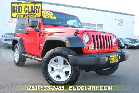 Pre-Owned 2010 Jeep Wrangler Sport 4WD Convertible