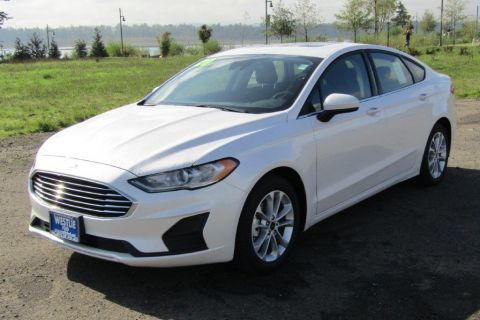 New 2020 Ford Fusion Hybrid FWD Sedan