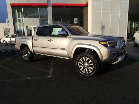 New 2020 TOYOTA TACOMA 4x4 V6 4WD Limited Double Cab 5' Bed V6 AT