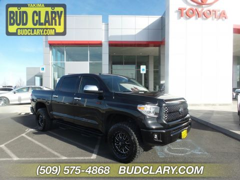 Pre-Owned 2018 Toyota Tundra Platinum 4WD CrewMax