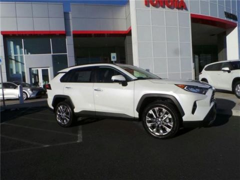 2020 Toyota RAV4 Limited 4dr All-wheel Drive