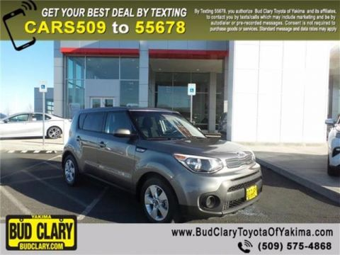 Pre-Owned 2017 KIA Soul Base (A6) 4dr Hatchback FWD Hatchback