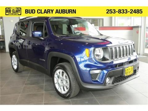 New 2020 Jeep Renegade Latitude 4dr 4x4 4WD Sport Utility